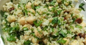 garbanzos quinoa