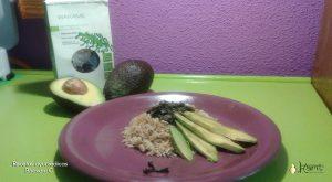 receta arroz aguacate algas
