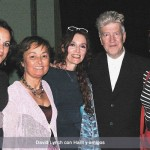 David Lynch con Harit y amigos -1