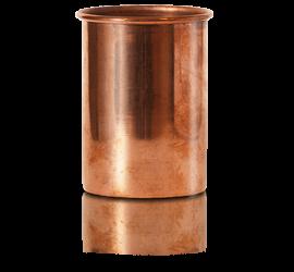 Vaso de cobre en la tienda online